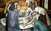 Velika sobota - Jezus leži v grobu