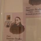 Priložnostna znamka, žig in razglednica ob 100. obletnici smrti p. Stanislava Škrabca