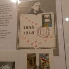 Priložnostna znamka izdana ob 150. obletnici rojstva p. Stanislava Škrabca