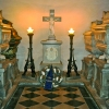 Kripta pod prezbiterijem cerkve